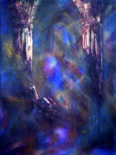 Columns of Light - 30x40