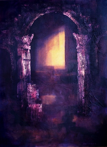 Doorway to the Past - 30x40
